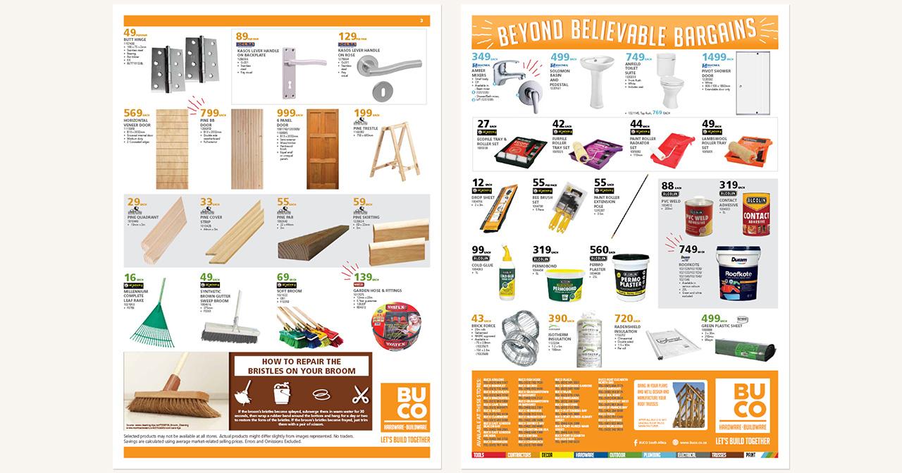 BUCO - Leaflets